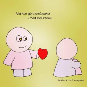 med kärlek