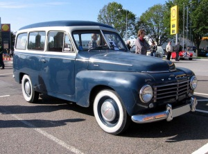 Volvo 1958 PV445 Duett fram