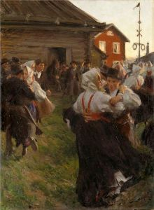 Midsommardans_av_Anders_Zorn 1897