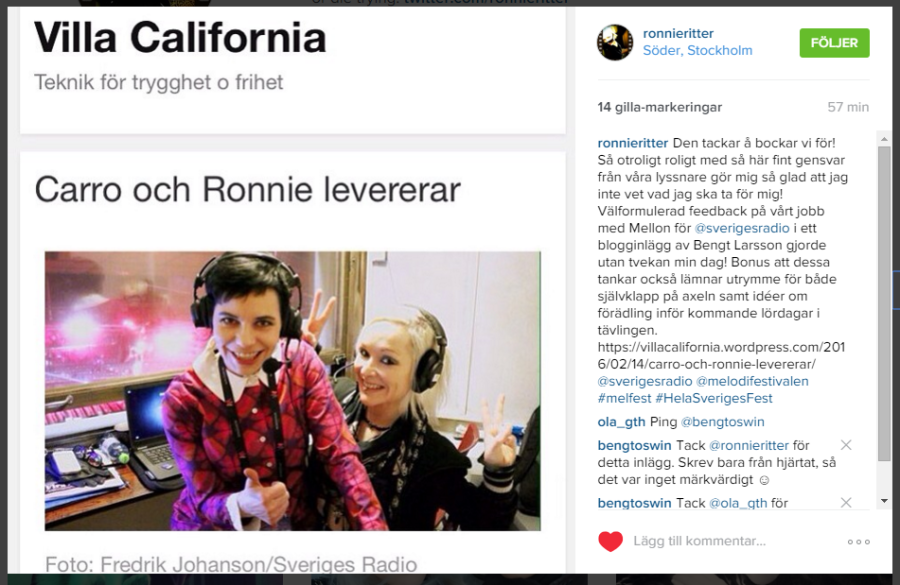 Ronniesinstagram