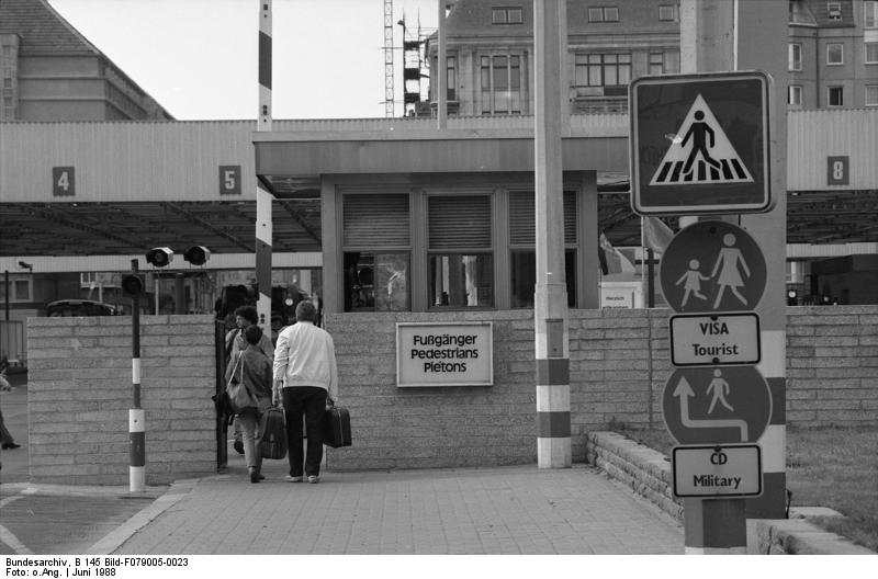 Berlin, Grenzübergang Checkpoint Charlie